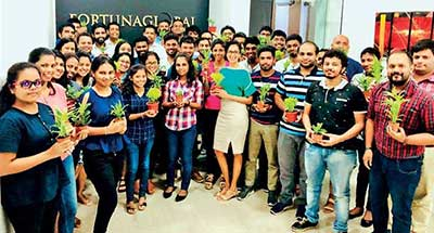 Fortunaglobal joins hands with Green Choice Lanka to launch sustainable CSR project